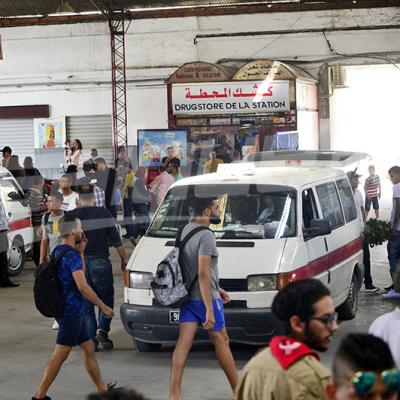 إكتظاظ محطات النقل البري تزامنا مع عيد الأضحى