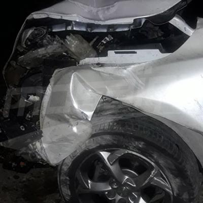 Le lieu de l'accident ayant causé la mort du chanteur Hssan Dahmani