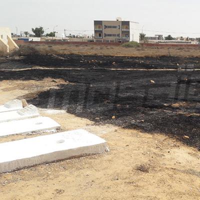 Ben Guerdane : Le cimetière Sidi Khelif prend feu