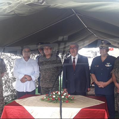 Zbidi inaugure une nouvelle unité de logement de l'armée au Kef