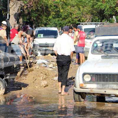 نابل تعدّ خسائرها: من هنا مرّت الفيضانات...