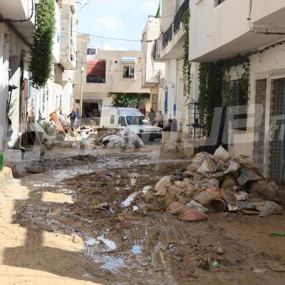 Nabeul: les dégâts provoqués par les pluies à Sidi Amor