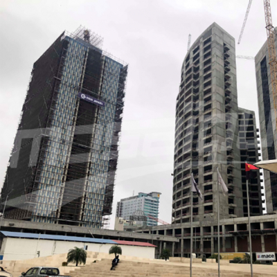 Mosaïque à Luanda