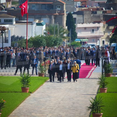 Les trois présidents à Bizerte pour commémorer la fête de l'évacuation
