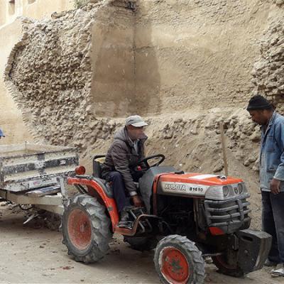 Kairouan: effondrement d'une partie de la clôture de la Medina