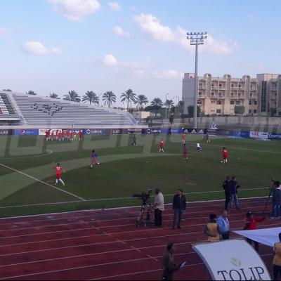 أجواء ما قبل مباراة المنتخب الأولمبي ونظيره المصري