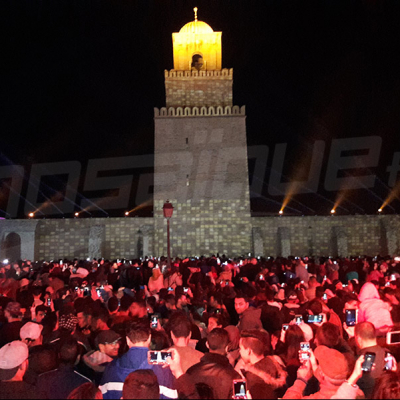 نشوة أهالي وضيوف القيروان بالمدائح والأذكار بالمولد النبوي