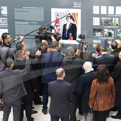 Before the Fourteenth, une foire des étapes de la révolution tunisienne