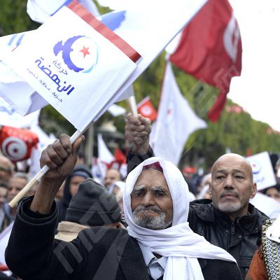 النهضة تحتفل بثورة 14 جانفي