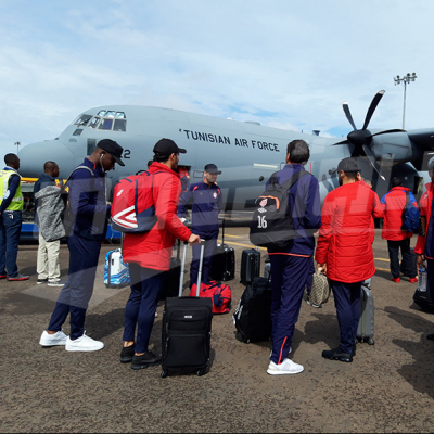 الإفريقي يصل إلى الكونغو بعد 11 ساعة طيران
