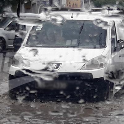 نزول كميات هامة من الامطار في صفاقس