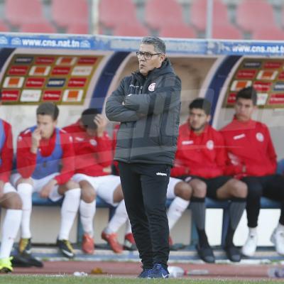المنتخب الوطنّي الأولمبي (1-1) المنتخب الجزائر الأولمبي