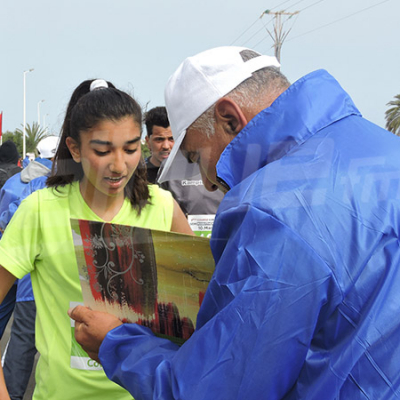L'ambiance du marathon d'Ulysse à Djerba