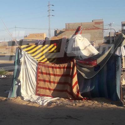 توزر: اعتصام عائلات للمطالبة بالسكن