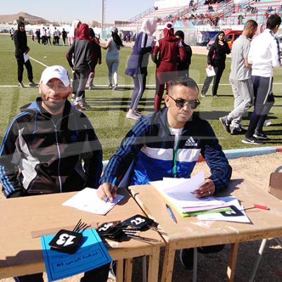 Premier jour du Bac Sport à Tataouine