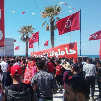 Les supporters de l'ESS s'apprêtent à accueillir les vainqueurs de la coupe arabe
