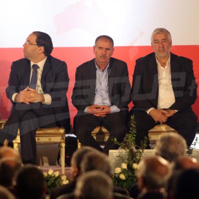 Le ministère des affaires sociales célèbre la fête du travail en présence des trois présidents