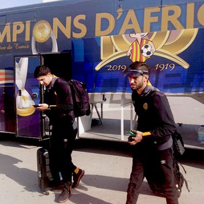 CAF - Ligue des Champions : L'EST s'envole pour Lubumbashi