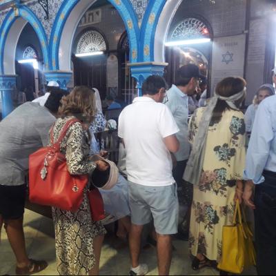 L'ambiance du pèlerinage d'El Ghriba