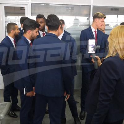 كان 2019: بعثة المنتخب تتحوّل إلى مصر