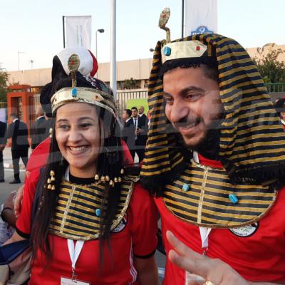 افتتاح كان 2019: الأجواء في محيط ملعب القاهرة