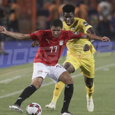 كان 2019 : مباراة مصر وزيمبابوي