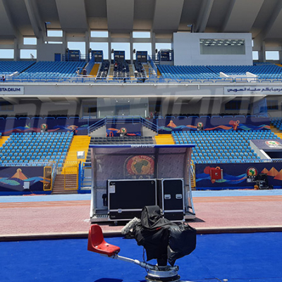 Le stade du Suez qui accueillera le match Tunisie Vs Angola