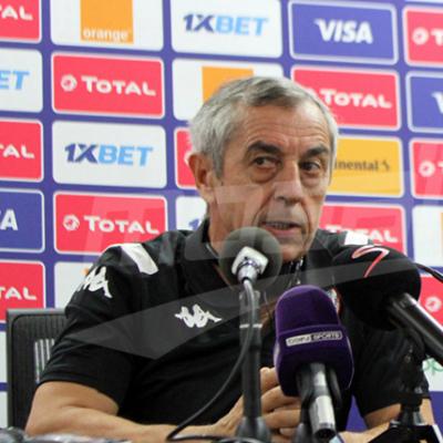 Conférence de presse du sélectionneur national avant le match contre l'Angola