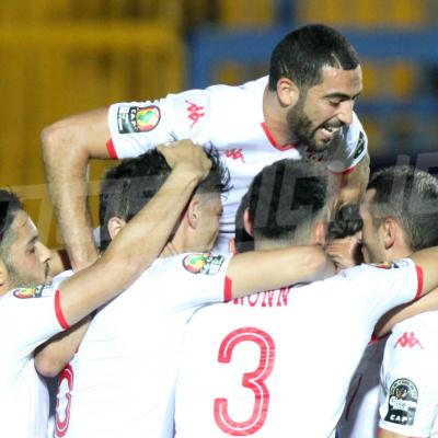 L'ambiance du match Tunisie - Angola à Suez