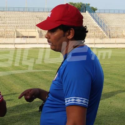 لسعد الدريدي يشرف على اوّل حصة تدريبية مع النادي الافريقي