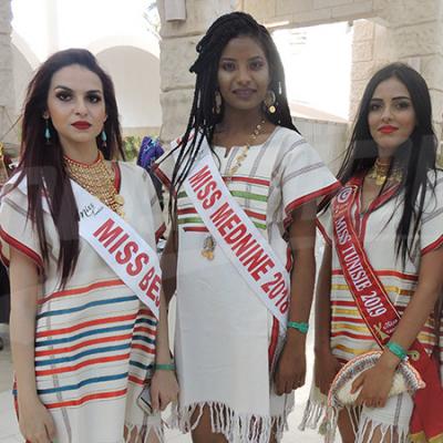 ملكات جمال تونس في جربة للترويج للسياحة الداخلية بالجزيرة