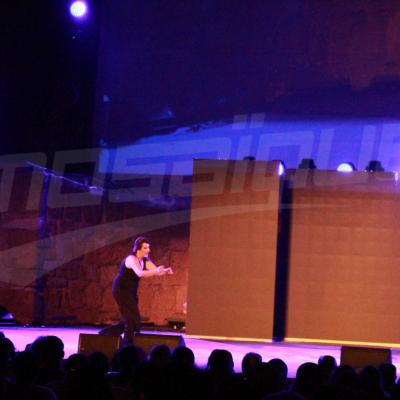 "Wajiha Jendoubi présente son spectacle ""Big Bossa"" au festival de Carthage"