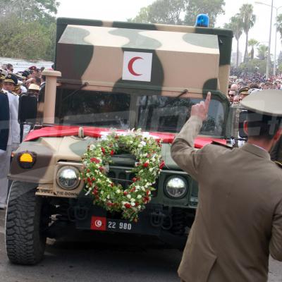 Funérailles d'un grand Président
