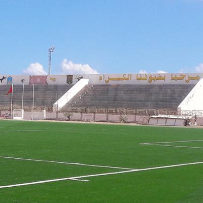 ملعب بن قردان جاهز لمباراة الفريق ضد بنداري الكيني
