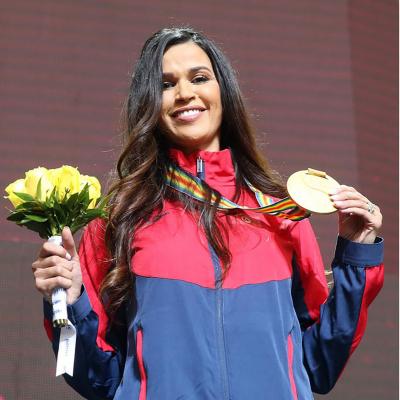 حبيبة الغريبي تسترجع ميدالياتها الذهبية في بطولة العالم