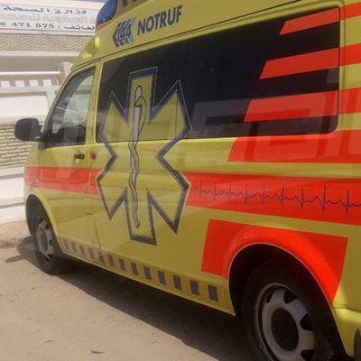 طبيب تونسي مقيم في سويسرا يهدي مستشفى توزر سيارات اسعاف وتجهيزات