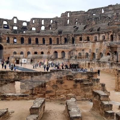 الانطلاق في ترميم قصر الجم الأثري
