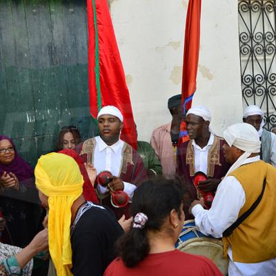 Al Mouldeya en direct du mausolée Sidi Mehrez à l'occasion du Mouled.