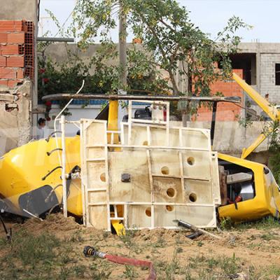 سكرة: سقوط طائرة مداواة ووفاة قائدها