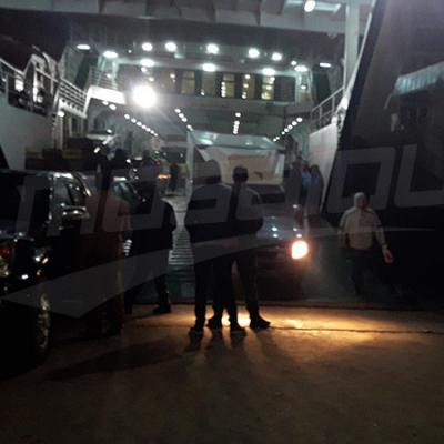 Les passagers bloqués au bac de Kerkennah