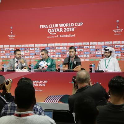 Coupe du monde des clubs 2019 : Conférence de presse d'Al Sadd Qatari