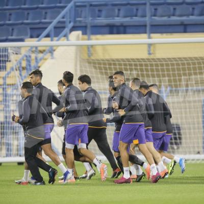 EST: Première séance d'entraînement à Doha