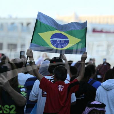 جماهير فلامينقو تصنع الحدث في قطر قبل نهائي كأس العالم للأندية