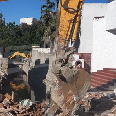 تنفيذ 7 قرارات هدم لبناءات فوضوية في باردو