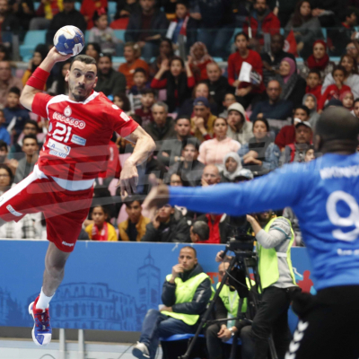 CAN Handball 2020 : Tunisie (41 - 21) Cameroun