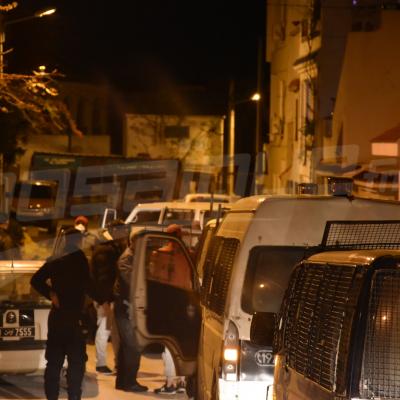 Des arrestations lors du premier jour du couvre-feu