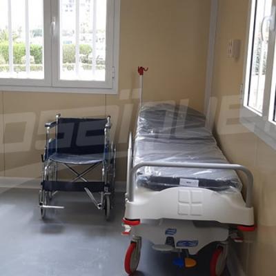 المكي يشرف على إفتتاح وحدة ''كوفيد 19'' بمستشفى سهلول بسوسة