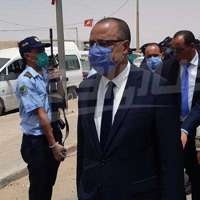 وزير الداخلية يشرف على إحياء ذكرى معركة رمادة.. ويزور معبر ذهيبة 