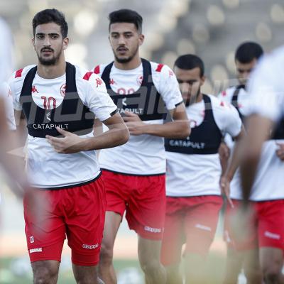 المنتخب الوطني لكرة القدم يواصل تربصه التحضيري