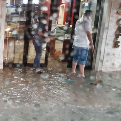 Pluies diluviennes à Tunis